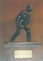 """Preis Kegelclub """"Oll Stamm"""", 21.01.1933  (der Pokal befindet sich noch heute in der Kegelbahn)"""